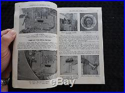 1943 Wwii Caterpillar D6 Track-type Crawler Tractor Service-parts-oper Manual
