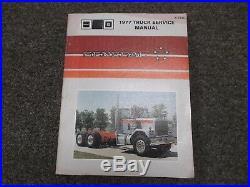 1977 GMC General Heavy Truck Shop Service Repair Manual Detroit Cummins Cat