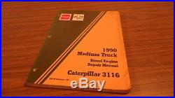 1990 Gmc Caterpillar 3116 Engine Service Manual An50
