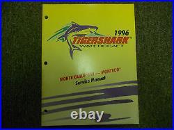 1996 ARCTIC CAT Tigershark Monte Carlo 640 Montego Watercraft Service Manual x