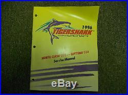 1996 ARCTIC CAT Tigershark Monte Carlo 770 Daytona 770 Service Manual FACTORY x