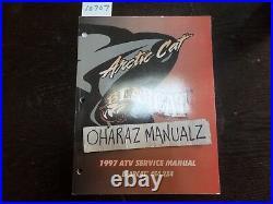1997 ARTIC CAT Bearcat Bear Cat 454 2x4 ATV Service Shop Manual OEM