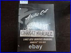 1997 ARTIC CAT Bearcat Bear Cat 454 4x4 ATV Service Shop Manual OEM