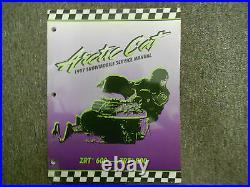 1997 Arctic Cat ZRT 600 800 Service Repair Shop Manual FACTORY OEM x NEW