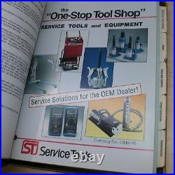 1997 CAT Caterpillar OTC SPX ST SHOP SERVICE TOOLS CATALOG Manual engine crawler