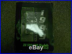 1999 ARCTIC CAT ZR 500 600 Carbureted Service Repair Shop Manual FACTORY OEM x