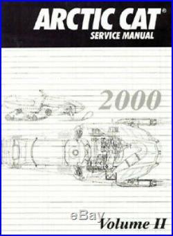 2000 Arctic Cat Snowmobile Service Repair Manual Volume 2 2256-249