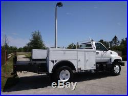 2000 GMC Topkick C7500 Service Utility Truck Manual 7.2 CAT Diesel FL Truck