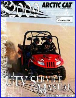 2009 Arctic Cat Prowler XTZ 1000 UTV Side by Side Service Manual 2258-399