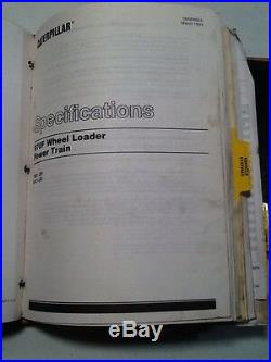 CAT 970F Wheel Loader Service Manual OEM