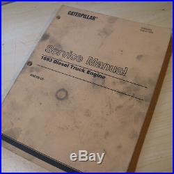 CAT CATERPILLAR 1693 Diesel Truck Engine Repair Shop Service Manual overhaul oem