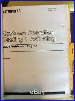 CAT CATERPILLAR 225B 229 EXCAVATOR SERVICE MANUAL 1AG 1GF 2ZD 3YD Book Repair