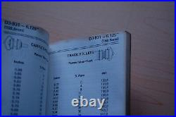 CAT CATERPILLAR 3RD EDITION CUSTOM TRACK SERVICE Manual Handbook D7 D3 D4 D5 D6