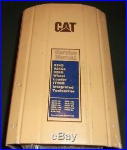 CAT CATERPILLAR 924G 924Gz 928G WHEEL LOADER SERVICE SHOP REPAIR BOOK MANUAL