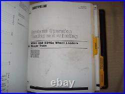 CAT CATERPILLAR 924G 924Gz WHEEL LOADER SERVICE SHOP REPAIR WORKSHOP MANUAL