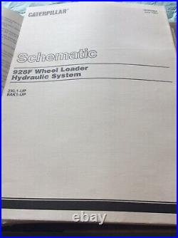 CAT CATERPILLAR 928F WHEEL LOADER SHOP REPAIR SERVICE MANUAL S/N 2XL 8AK Book
