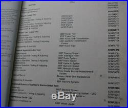 CAT CATERPILLAR 988F Front End Wheel Loader Owner Repair Shop Service Manual 8YG