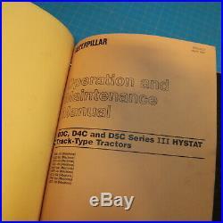 CAT CATERPILLAR D3C D4C D5C Series III Hystat Crawler Tractor Service Manual 3