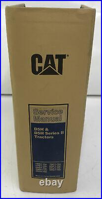 CAT CATERPILLAR D5H & D5H Series II TRACTOR SERVICE MANUAL BINDER SENR3250