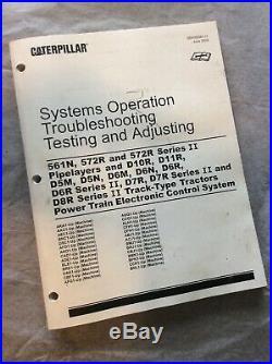CAT CATERPILLAR D5M D5N D6N D6R SERVICE MANUAL Power Train Electronic Control