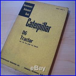 CAT CATERPILLAR D6 Tractor Repair Shop Service Manual reference book crawler OEM
