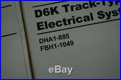 CAT CATERPILLAR D6K TRACTOR Electrical Schematic Diagram Manual service repair