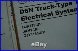 CAT CATERPILLAR D6N TRACTOR Electrical Schematic Diagram Manual service repair
