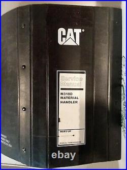 CAT CATERPILLAR M318D Material Handler SERVICE SHOP REPAIR MANUAL BOOK