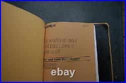 CAT Caterpillar 140H 160H Motor Grader Repair Shop Service Manual book owner OEM