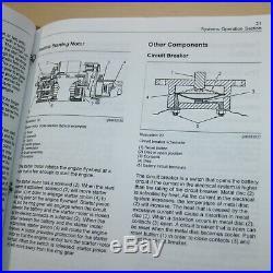 CAT Caterpillar 216B 226B 232B 242B Skid Steer Loader Repair Service Manual Book