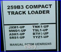CAT Caterpillar 216B3 226B3 236B3 242B3 252B3 247B3 257B3 Loader Service Manual