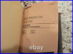 CAT Caterpillar 235 235B Excavator Service Shop Repair Manual Book Catalog OEM