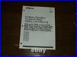 CAT Caterpillar 236B Skid Steer Loader Control System Test Service Repair Manual