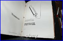 CAT Caterpillar 245B Excavator Repair Shop Service Manual crawler trackhoe owner