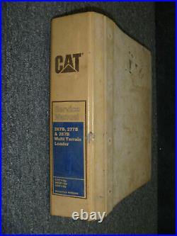 CAT Caterpillar 267B 277B 287B Multi Terrain Loader Service Repair Manual CYC1