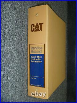 CAT Caterpillar 302.5 Mini Hydraulic Excavator Shop Service Repair Manual 4AZ1