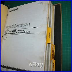 CAT Caterpillar 311 312 Crawler Excavator Repair Shop Service Manual owner book