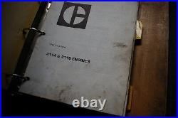 CAT Caterpillar 3114 3116 Engine Repair Shop Service Manual operator maintenance