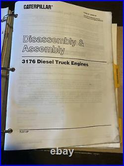 CAT Caterpillar 3176 Diesel Truck Engine Repair Service Manual Shop Book 7LG1-Up