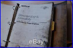CAT Caterpillar 3176 Diesel Truck Engine Repair Service Manual operator owner