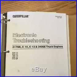 CAT Caterpillar 3176B C10 C12 ENGINE TRAINING SERVICE REPAIR MANUAL DIESEL TRUCK