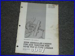 CAT Caterpillar 3204 Engine For 931B Loader Assembly Service Repair Manual 45V1
