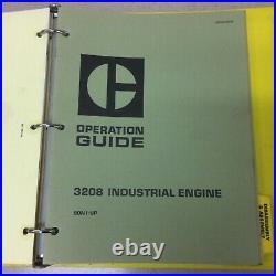 CAT Caterpillar 3208 SERVICE MANUAL ENGINE DIESEL INDUSTRIAL & MARINE sn 75V 90V