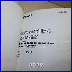 CAT Caterpillar 325B L Excavator Repair Service Manual crawler shop maintenance