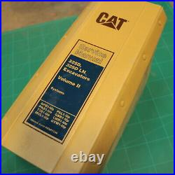 CAT Caterpillar 325D LN Crawler Excavator Owner Systems Shop Service Manual book
