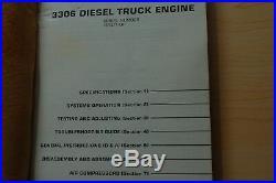 CAT Caterpillar 3306 Diesel Truck Engine Repair Shop Service Manual overhaul 76R