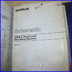 CAT Caterpillar 330B L Excavator Repair Shop Service Manual crawler maintenance