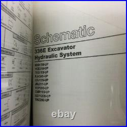 CAT Caterpillar 336E SERVICE SHOP REPAIR MANUAL EXCAVATOR GUIDE, KENR7980, VOL 2