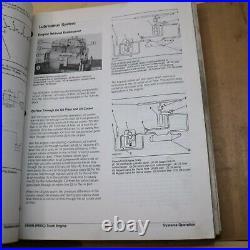 CAT Caterpillar 3406B Diesel Truck Engine Repair Shop Service Manual Owner book