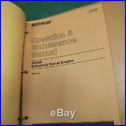 CAT Caterpillar 3406E Industrial Diesel Engine Repair Shop Service Manual owner